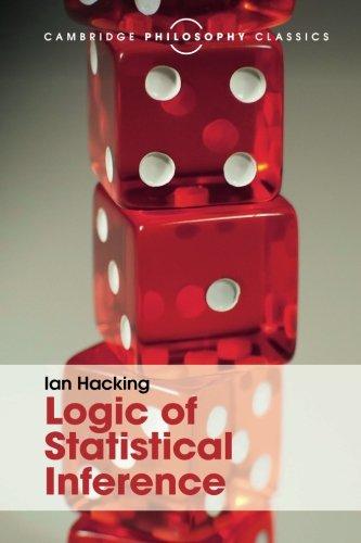 Logic of Statistical Inference (Cambridge Philosophy Classics) por Ian Hacking