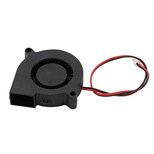 UEETEK Refroidissement Ventilateur DC 12V 0.23A pour pour Radiateurs Dissipateur de Chaleur imprimante 3D