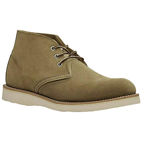 Red Wing Herren Classic Chukka Leder Olive Stiefel 45 EU -