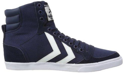 Hummel Fashion - Chaussures Hummel 'Slimmer Stadil High', de sport - HUMMEL SLIMMER STADI Bleu (Dress Blue/white Kh)