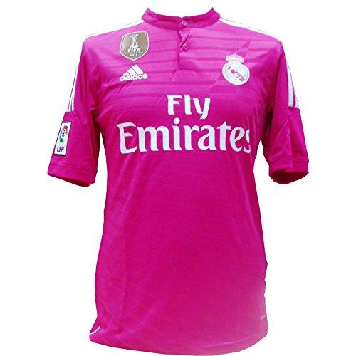 Adidas WC Real A JSY - Camiseta Unisex, Color Rosa/Blanco, Talla M