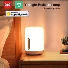 Originale Xiaomi Yeelight MIJIA Lampada RGB da Comodino, Wanfei WIFI di 2nd Generazione e Luce Notturna Bluetooh Smart con Touch & Voice Control Interruttore Multicolore per Apple Homekit & Siri