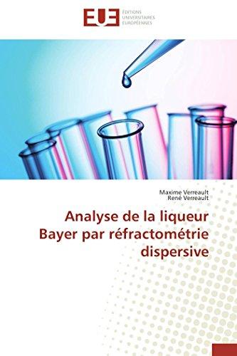 Analyse de la liqueur Bayer par réfractométrie dispersive (Omn.Univ.Europ.)