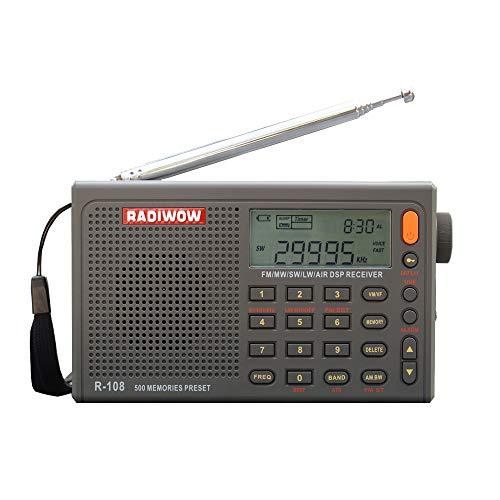 RADIWOW® R-108 Radio Digital Portable Radio