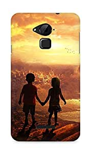 Amez designer printed 3d premium high quality back case cover for Coolpad Note 3 (Beautiful kids)