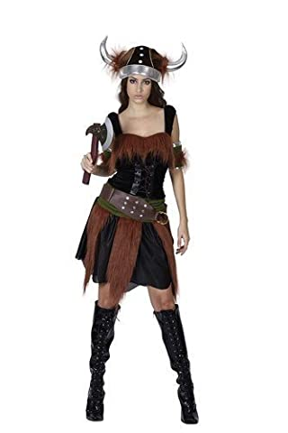 Viking Deluxe Costume 5pièces femelle (UK 10–12)