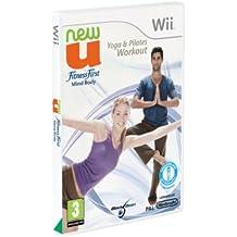 New U:Yoga Pilates Workout Wii Esp