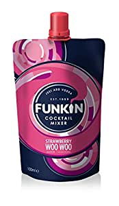 Funkin Strawberry Woo Woo Cocktail Mixer 120g (Pack of 8)