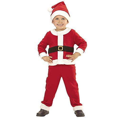 WIDMANN 14922 Kinderkostüm Weihnachtsmann, Jungen, Rot
