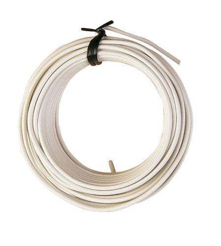 Ferrob 2331K9 - Filo di ferro, in rotolo da 20 m, colore: bianco