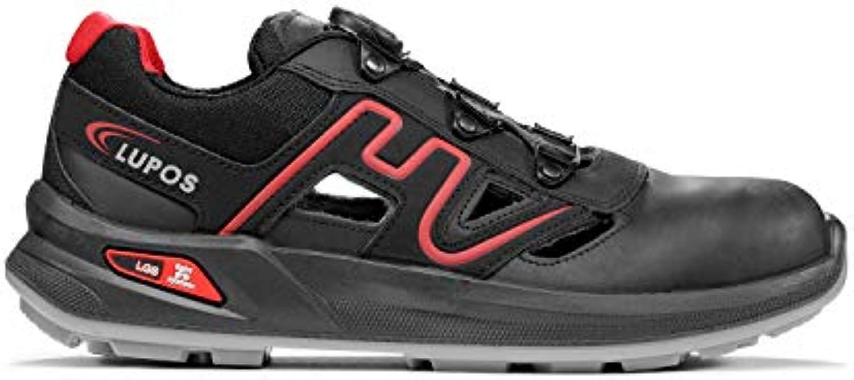 lupos feu feu feu s1p src l'edd lu20196 des chaussures de sécurité, etpu, 48, noire et rouge b07fns 1ldb parent | Modèles à La Mode  759256