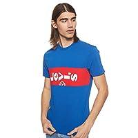 Levi's Men's Printed Regular fit T-Shirt (74351-0002_Blue_Medium)