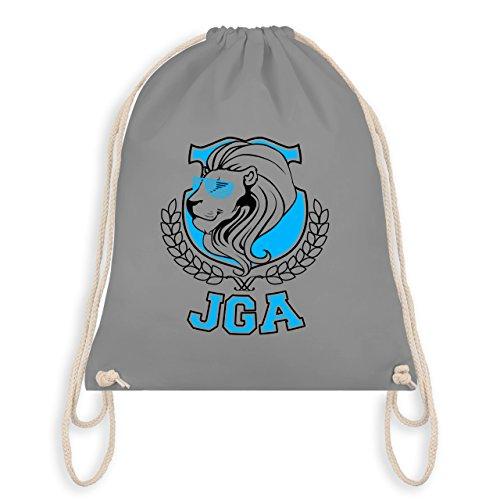 Jga Bachelorette Party - Jga Lion - Borsa Da Ginnastica I Gym Bag Grigio Chiaro