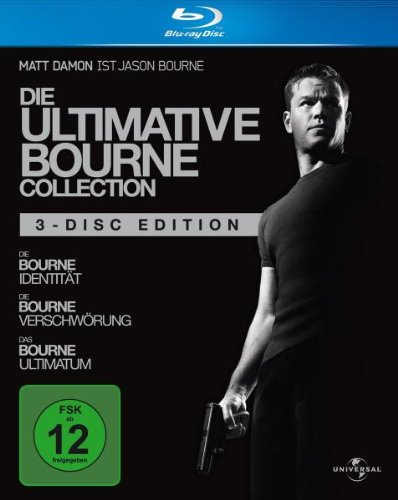 (1-3) Die ultimative Bourne Collection [Blu-ray]