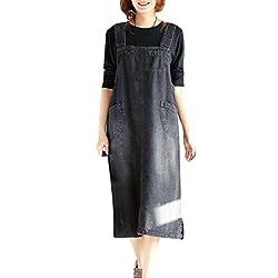 LaoZanA Mujer Peto Vestidos...