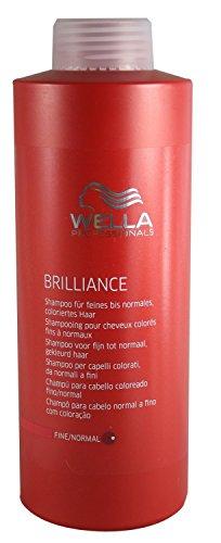 Wella Professionals Brilliance Shampoo, 1er Pack (1 x 500 ml)