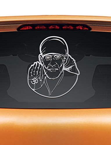 sai baba car rear glass sticker Sai Baba Car Rear Glass Sticker 41RvRUNxwzL