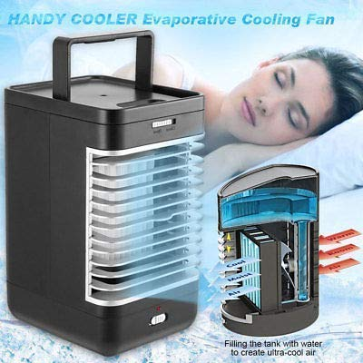 29% OFF on Jokereader Mini Air Conditioner USB Home Car Air Cooling