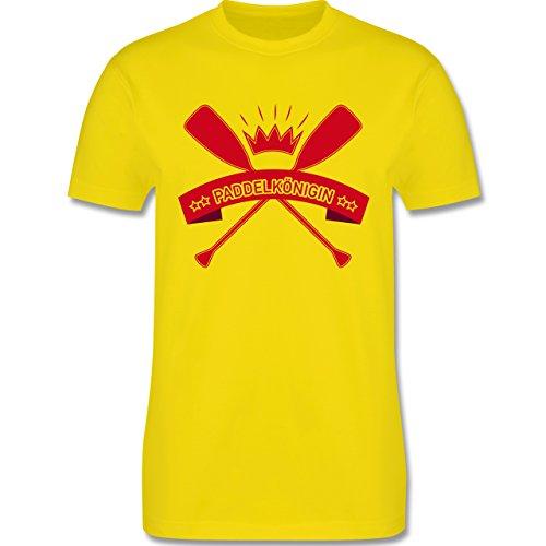 Wassersport - Paddelkönigin - Herren Premium T-Shirt Lemon Gelb