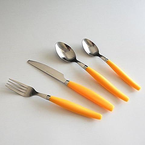 Enfant en acier inoxydable table de cuisine couteau fourchette et cuillère