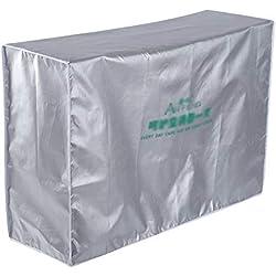 Copertura Condizionatore D'aria All'aperto Anti Polvere Anti-neve Impermeabile Sunproof Outdoor Coperchio Protezione dell'aria Condizionata con Tie Rope per Casa Edificio (3p (92*35*69))