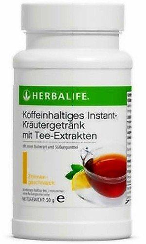 HERBALIFE Koffeinhaltiges Instant-Kraeutergetraenk mit Tee-Extrakten - Geschmack Zitrone - 50 g - Zitronen-kräuter-tee