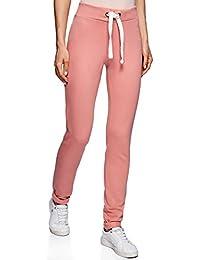 5da87d761f1 oodji Ultra Mujer Pantalones de Punto Deportivos con Lazos Decorativos