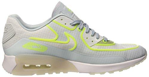 Nike Wmnsair Max 90 Ultra 2.0 Si, Sneakers Basses Femme Blanc Cassé (White/white/glacier Blue/pure Platinum)