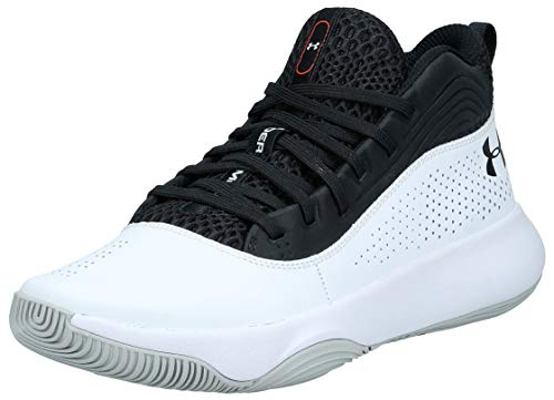Under Armour Herren UA Lockdown 4 Basketballschuhe, Schwarz (Black 001), 41 EU