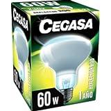 Cegasa r-90 - Lámpara r-90 reflectora 60w 230v e-27