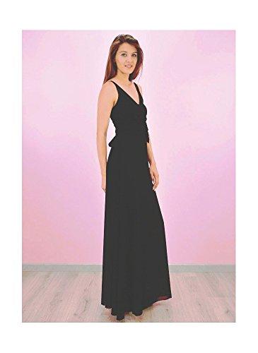 Robe Longue Soirée Noir Noir