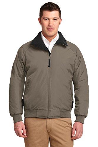 Port Authority® ChallengerTM Jacket. J754 Khaki/True Black M -