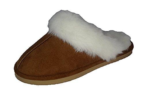 Dunlop , Chaussons pour femme Marron - Marrón - marrón