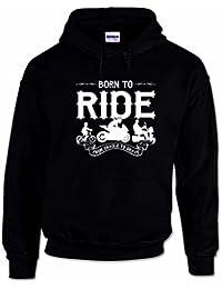 Sweat à Capuche Pour Hommes Motif 'Born To Ride'