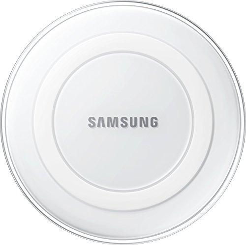 Samsung Induktive Ladestation Qi-Charger, kompatibel mit Samsung Galaxy S6/S6 Edge und S7/S7 Edge, weiß, FFP