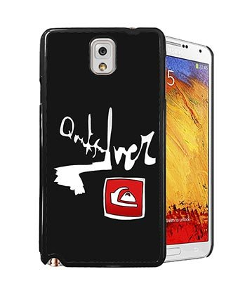 Quiksilver Brand Logo Handyhülle- Quiksilver Logo für Samsung Galaxy note 3 Hülle Case, Silikon TPU Gel Galaxy note 3 Handyhülle für Mädchen Anti-drop (Quiksilver-logos)