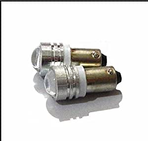 Bikers World Bullet-Projector 2 X Projector Parking Bulbs For Bullet Enfield (White)