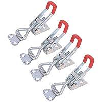 4pcs Metal palanca cierre de palanca (Caja cierre tapa Candado 4001 100 Kg/220lbs Mantener Capacidad Latch Button Toggle Latch