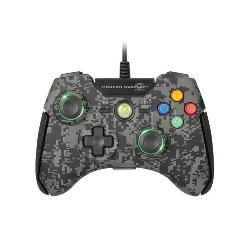 Xbox 360 - Controller Call of Duty - Modern Warfare 2 Black (Cod Modern Warfare 2 Xbox 360)