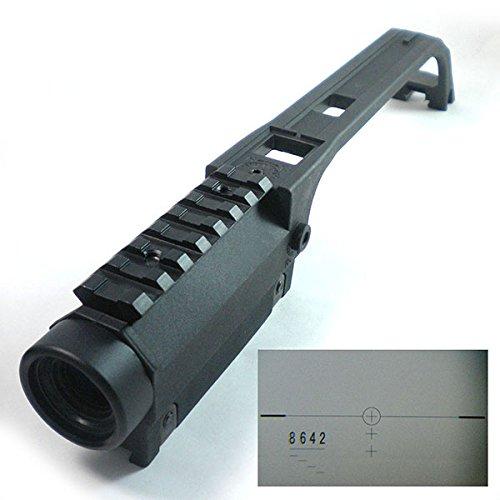 H Welt EU Taktischer G36 Tragegriff mit integriertem 3.5x Scope für G36 Serie Airsoft AEG Cqb Airsoft Guns