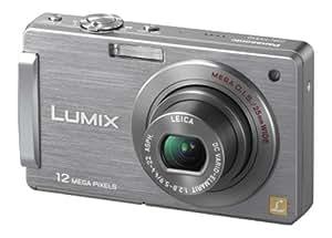 Panasonic Lumix FX550 Digital Camera - Silver (12.1MP, 5x Optical Zoom) 3.0 inch LCD