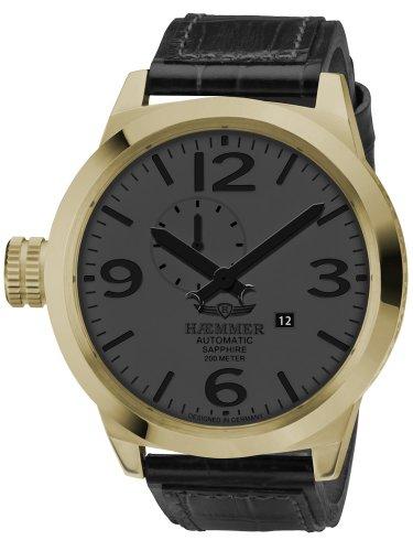 Haemmer hm-12–Herren Armbanduhr Farbe Schwarz