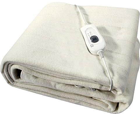 Fun Daisy King Size/Double/Taille simple couverture électrique rapide de la chaleur avec 3réglages de chaleur
