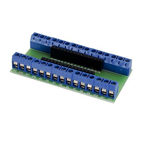 Jolicobo Scheda Adattatore di espansione terminale Nano per Arduino Nano V3.0 5 Pezzi