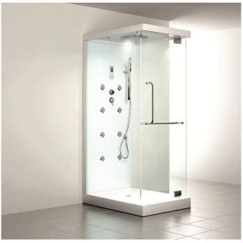 home deluxe design m duschtempel inkl dampfdusche - Infrarotkabine Kombiniert Mit Dusche