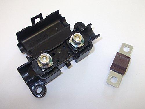 Innovo Midi Sicherungshalter mit Gratis 70AMP Braun Sicherung Clip Deckel Auto Van Truck Marine Marine 70 Amp