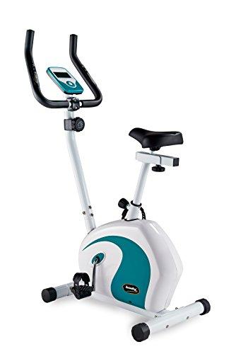 Vélo d'appartement ergomètre vélo d'appartement pouls à main-avec capteurs line griffsteuerung fitness