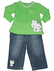 charmmy kitty-ensemble-vert-bébé fille