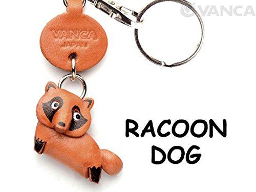 Waschbär, Hund klein Tier Schlüsselanhänger Vanca Windhund Schlüsselanhänger Made in (Waschbär Maskottchen)