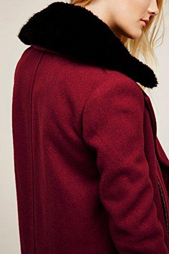Les Femmes À Double Boutonnage, Large Revers Poche Automne - Hiver Manteau Jacket Trenchcoat Vêtements red